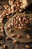 rauwe biologische cacaobonen foto