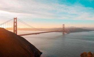 golden gate bridge, san francisco, californië foto