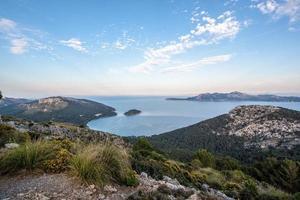 uitzicht op het eiland van Mallorca in spanje