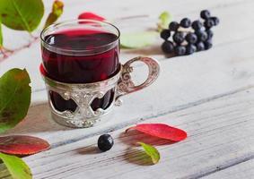 wijn uit aronia