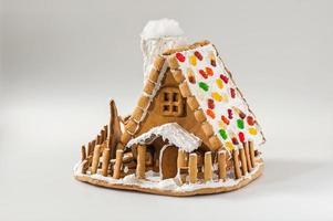 kerst peperkoek huis