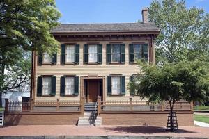 het huis van Abraham Lincoln