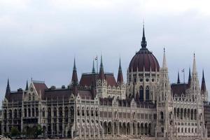 huizen van het parlement in Boedapest