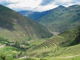 heilige vallei van inca's in peru foto