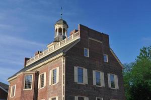 het oude staatshuis in Dover foto