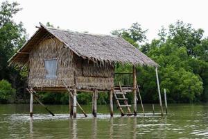 huisje aan de rivier 2 foto
