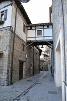 pamplona oude stad foto
