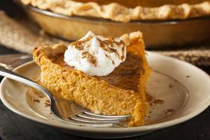 zelfgemaakte pompoentaart voor Thanksgiving