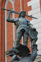 standbeeld van Sint-Joris in Riga