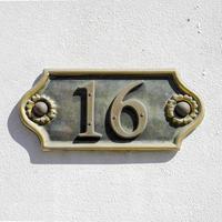 nummer 16 foto