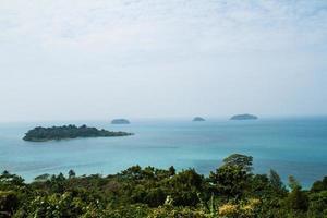 uitzichtpunt op Koh Chang foto