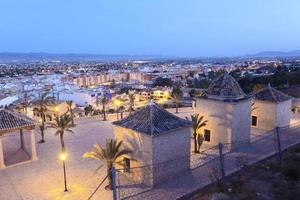 oude stad van lorca, spanje foto