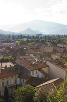 pyreneeën stad reizen foto