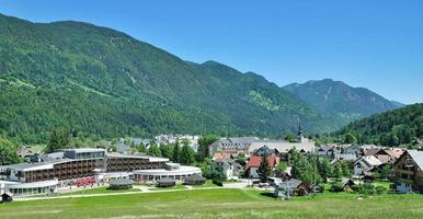 kranjska gora, triglav nationaal park, slovenië