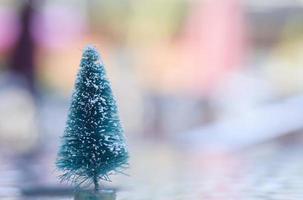 kale kerstboom foto