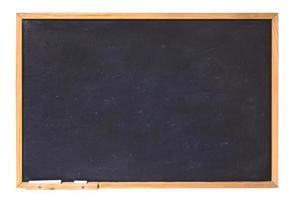 leeg schoolbord