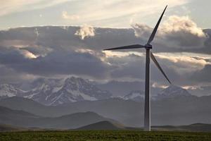 windmolenpark canada foto