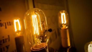 Edison-lamp foto