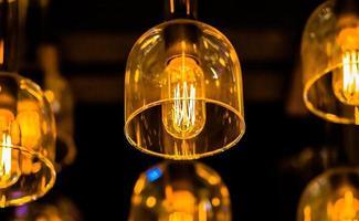 decoratieve verlichting. foto
