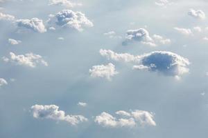 hemel met wolken foto