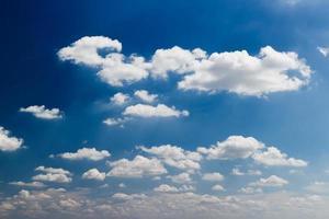 wolk en lucht foto