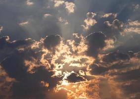 lucht en zon foto
