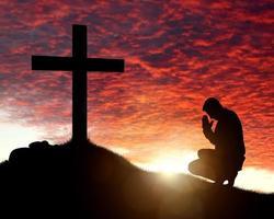 aanbidding, liefde en spiritualiteit foto