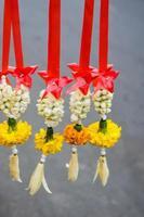 krans van bloemen foto