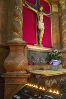 sculptuur van jezus foto