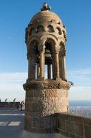 tempel van het heilig hart - barcelona foto