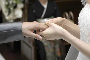 bruiloft afbeelding foto