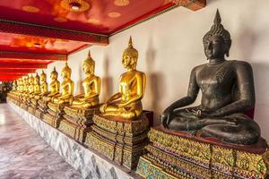 boeddha zittend foto