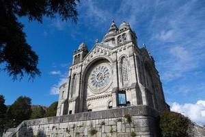 heiligdom van Santa Luzia in Viana do Castelo foto