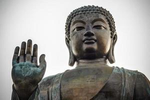 boeddha bij ngong ping foto