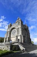 heiligdom van Santa Luzia in Viana do Castelo, Portugal foto