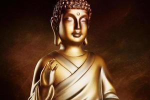 boeddha meditatie foto