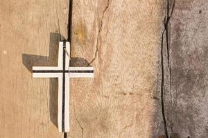 kruis het licht schijnt
