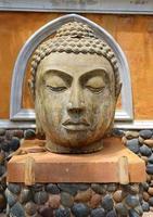 hoofd van Boeddha foto