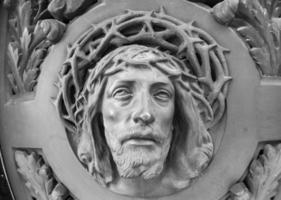 Jezus Christus standbeeld foto