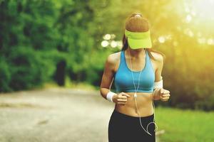 mooie fitness vrouw