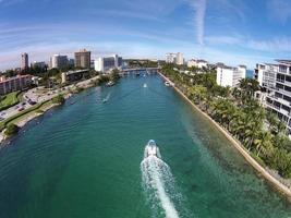 waterwegen in de buurt van boca raton, florida