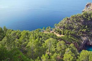 sa foradada - mediterraan eiland Mallorca foto