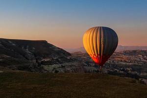cappadocia vanuit de lucht - foto
