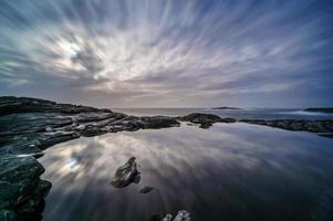 noordzee, sotra-eiland, provincie bergen, noorwegen.
