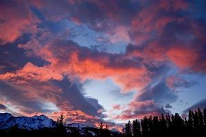 weer een zonsopgang foto
