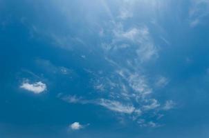 blauwe lucht en zacht kunnen