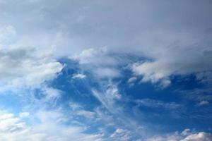 spookachtige wolk foto