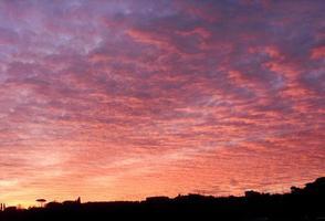 rosso di sera - rode avond foto