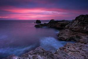 voor zonsopkomst foto