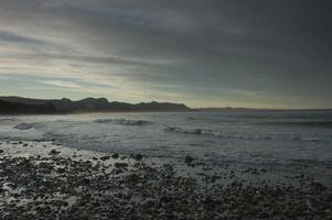 onekaka beach, golden bay, nieuw-zeeland foto